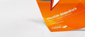 MaxiSilk Bilderdruck